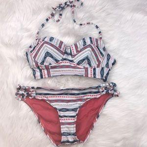 Lucky Brand Aztec Bikini